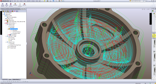3 Axis Bobcam For Solidworks Plugin Cam Software